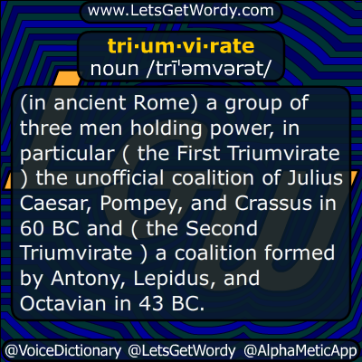 triumvirate 04/12/2017 GFX Definition