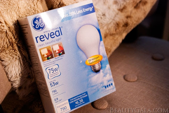 Vanity Lighting Makeover With Ge Reveal Light Bulbs