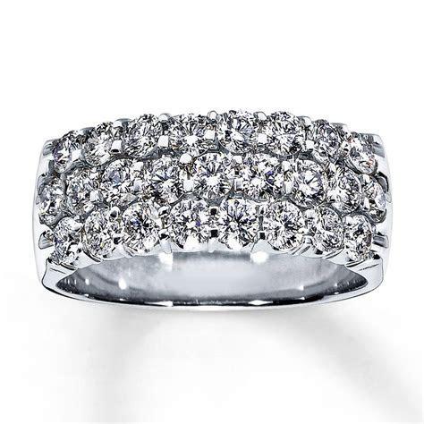 Anniversary ring 1 1/2 CT round cut 14K white gold   Jared