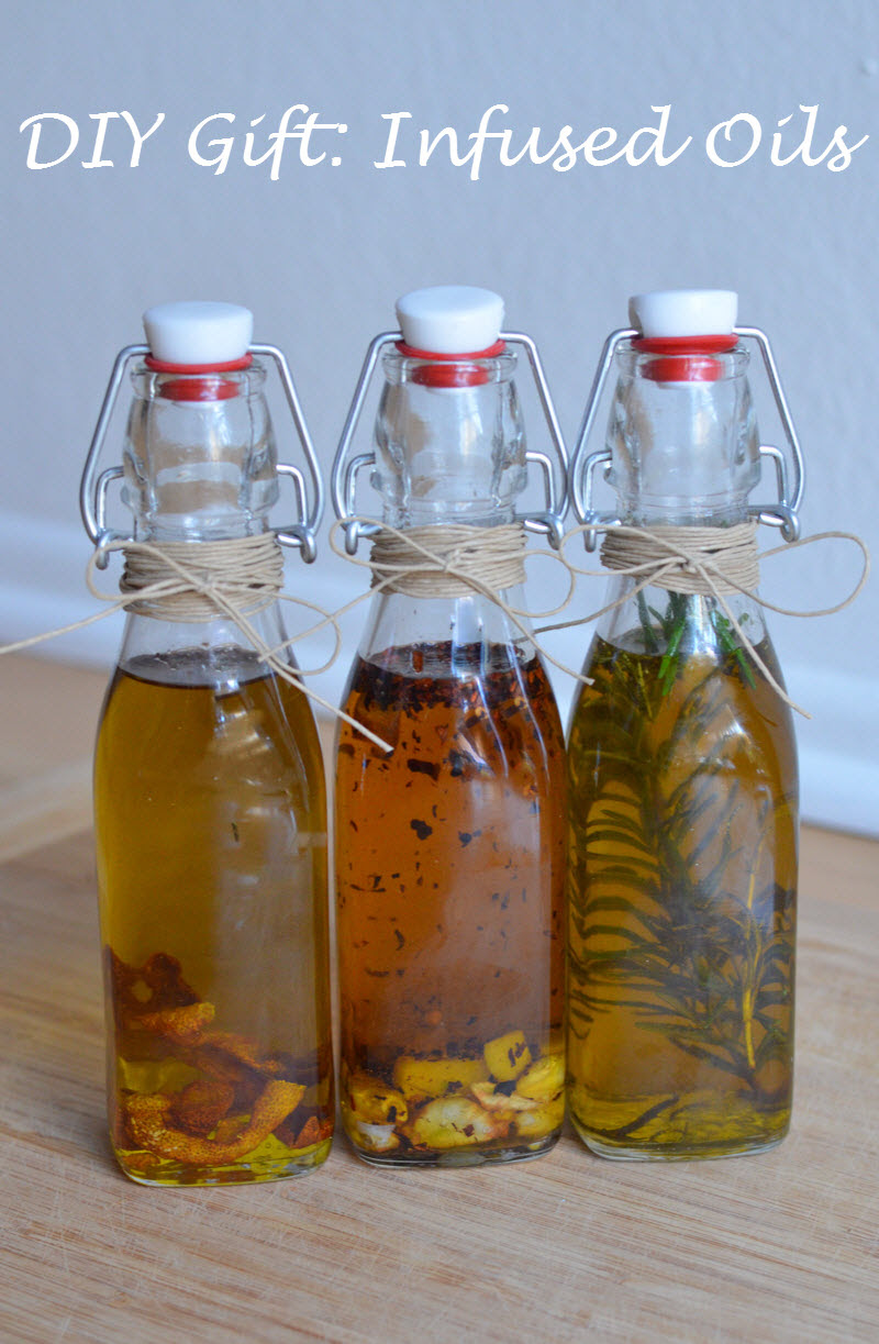 Infused Olive Oil via Luci's Morsels