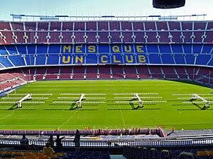 Camp Nou, Stadium of F.C. Barcelona, Barcelona...
