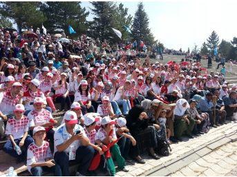 """Kütahya'nın Gediz ilçesinden 180 genç, 30 Ağustos Zafer Bayramı'nda yapılacak olan """"Dumlupınar'dan Zafertepe'ye"""" adlı Zafer Yürüyüşüne katılacak."""