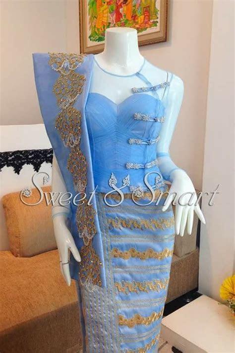 483 best images about myanmar dress on Pinterest