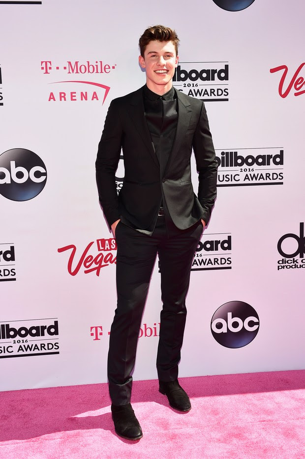Shawn Mendes no Billboard Music Awards (Foto: AFP)