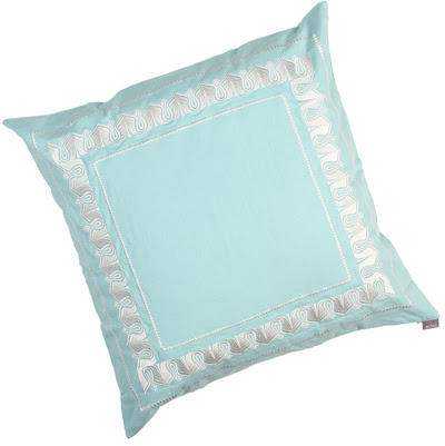 Echo Design Sardinia Euro Sham Everything Turquoise