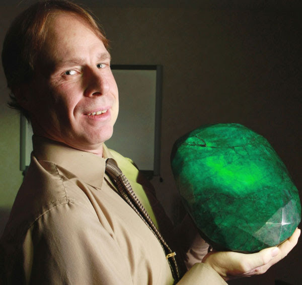 Teodora - The World's Largest Emerald