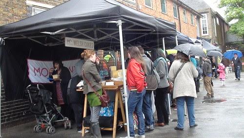 Crystal Palace food market May 13 1