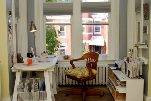 Home Office/Master Bedroom Redesign eclectic home office