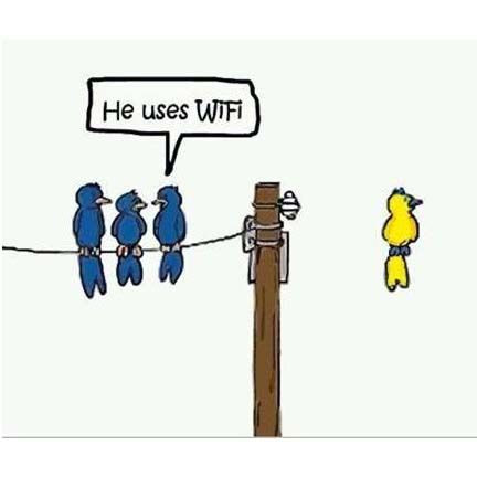 lol  Wireless... I get it!  :)