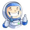 Gennadiy Zhuchkov - astronaut Yura artwork