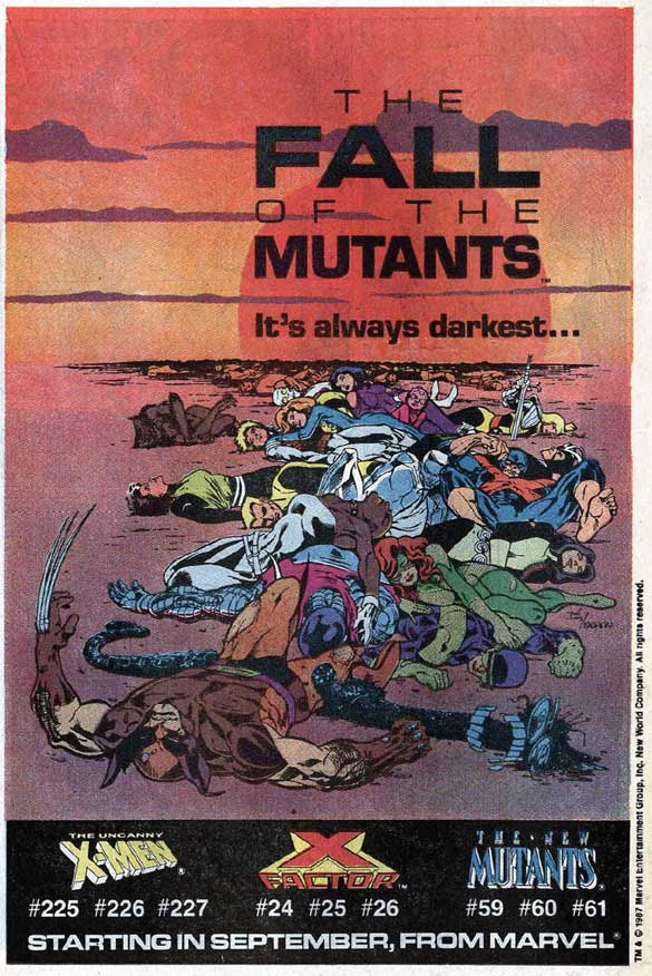 The Fall of the Mutants