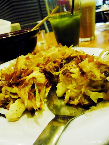 Okonomiyaki seafood