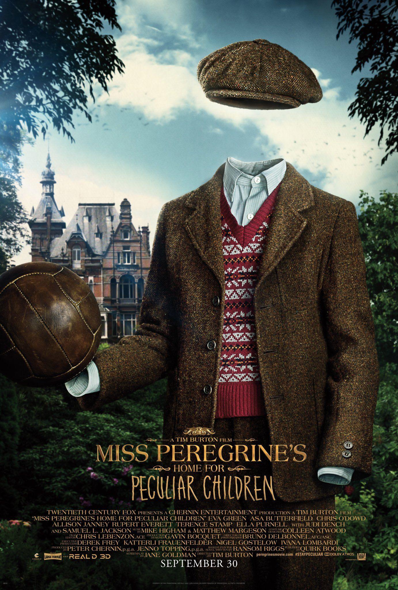 Resultado de imagem para miss peregrine's home peculiar posters