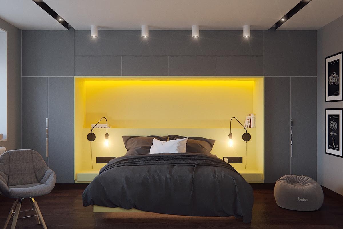 26 Gorgeous Grey Bedrooms