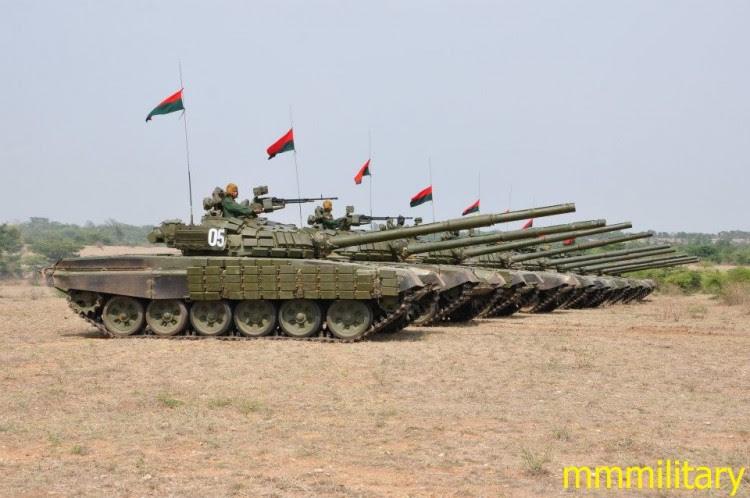 Myanmar T-72S MBT