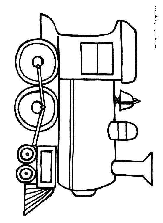 Tren Boyama Sayfasi 3 Okul öncesi Etkinlik Faliyetleri