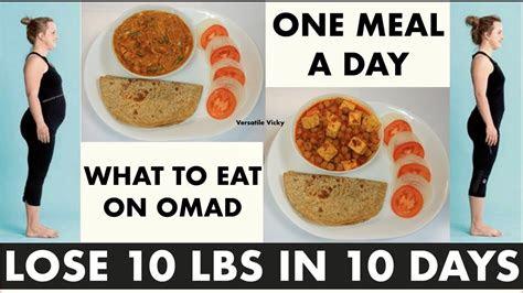 lose weight fast kg   days omad diet plan