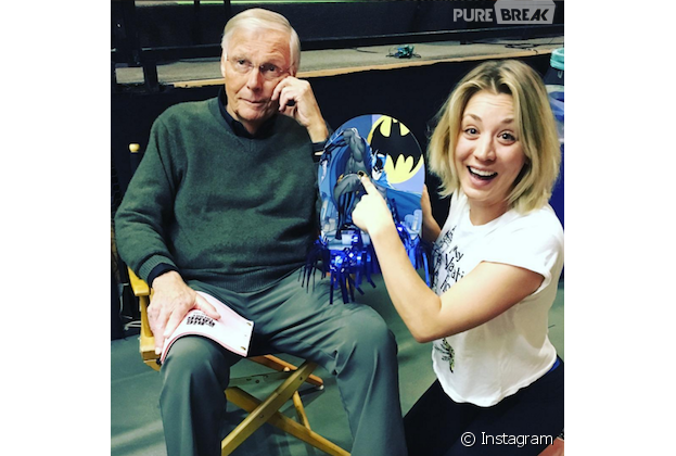 Resultado de imagen de adam west en the big bang theory