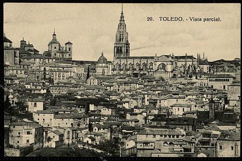 Catedral de Toledo ya sin el Cimborrio tras ser demolido en 1910.