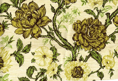 1960s vintage wallpaper Stauffer Chemical Company