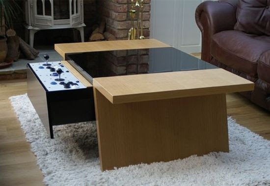 Coffee Table Makes Retro Gaming a Contemporary Experience ...