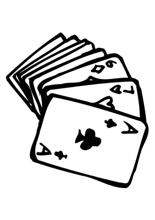 Gioco Carte Assassino Disegni Da Stampare