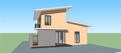 sketchup modern house  design   ideas