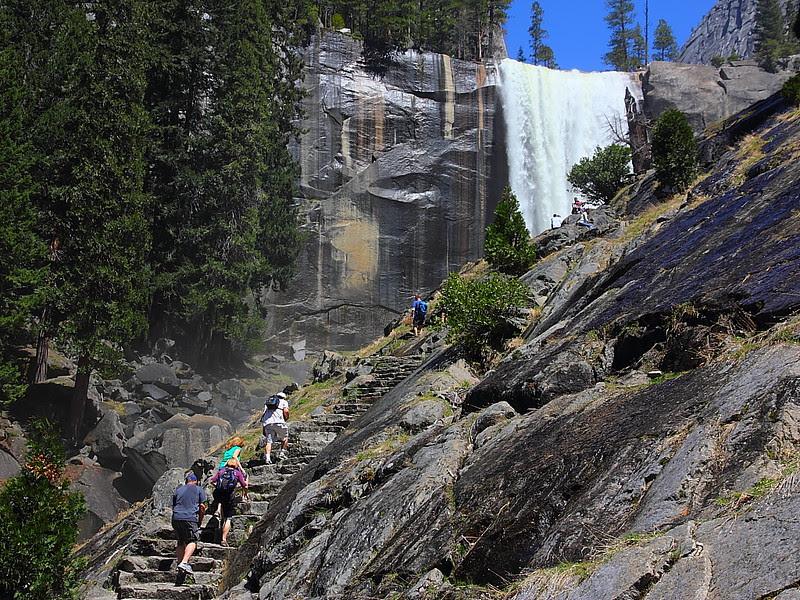 IMG_7892 Mist Trail/Vernal Falls