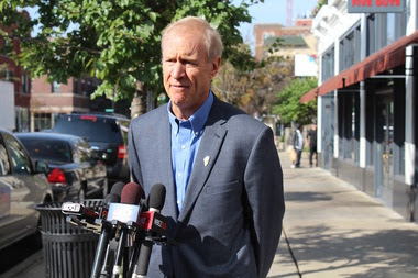 Rauner Heckled in Hyde Park: 'Why Don't You Go to the Real South Side?'
