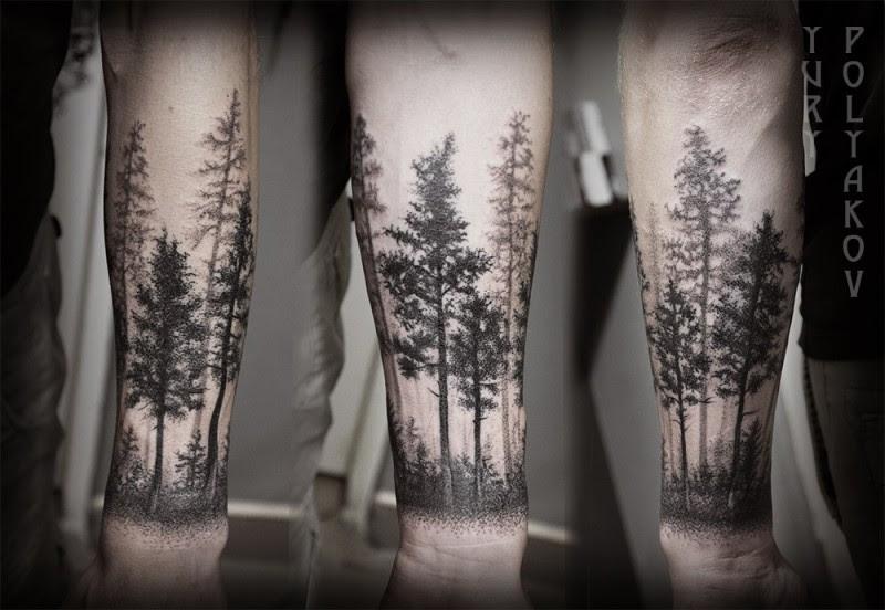 Free Black Tree Tattoo Download Free Clip Art Free Clip Art On