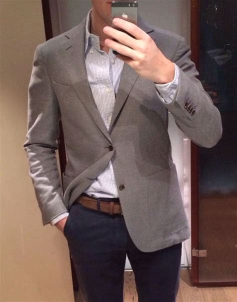 grey sport coat ideas  pinterest navy sport