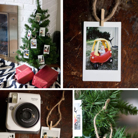 easy instax instant photo ornaments