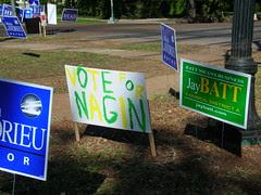 Vote Nagin Yellow/Green