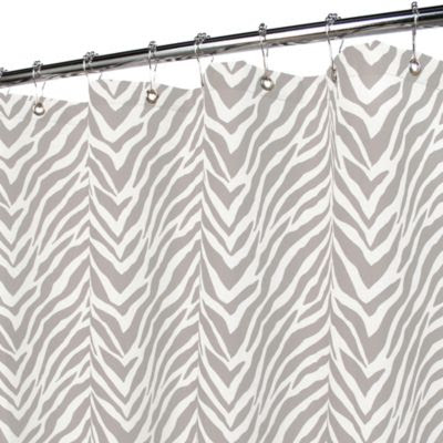 Buy Zebra Print Shower Curtain from Bed Bath & Beyond