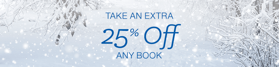 Holiday Deals in Books: Take an extra 25% off any book
