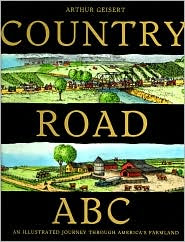 Country Road ABC: An Illustrated Journey Through America's Farmland by Arthur Geisert: Book Cover