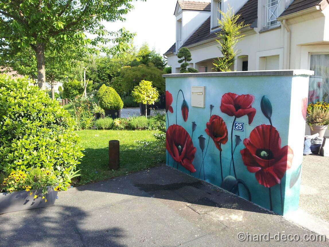 Dcoration Mur Extrieur  Clture Pour Habiller Un Mur