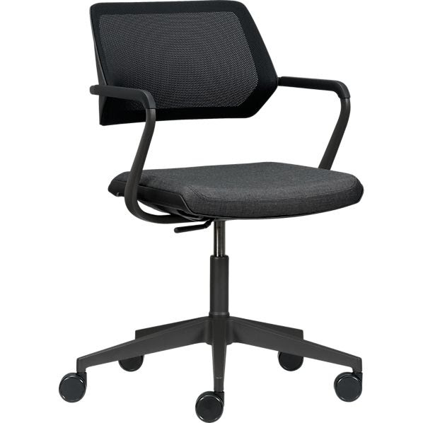 Steelcase® QiVi™ Office Chair in Office Chairs   Crate and Barrel