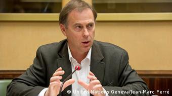 Rupert Colville: Sprecher des UN-Menschenrechtskommissars (foto-Copyright: United Nations Geneva / Jean-Marc Ferré)