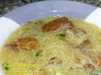 Sotanghon Coconut Milk