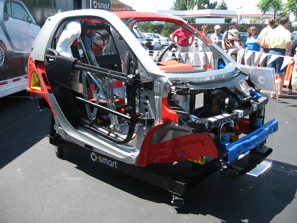 Smart Fortwo Coupe Cutaway Frame Tom Donohue Flickr
