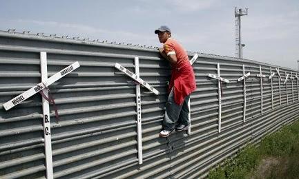 Pero los estadounidenses que viven en la frontera piden menos muro y más pasos…