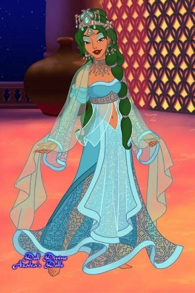 The Creator by Ottavia ~ Princess Jasmine dress up game