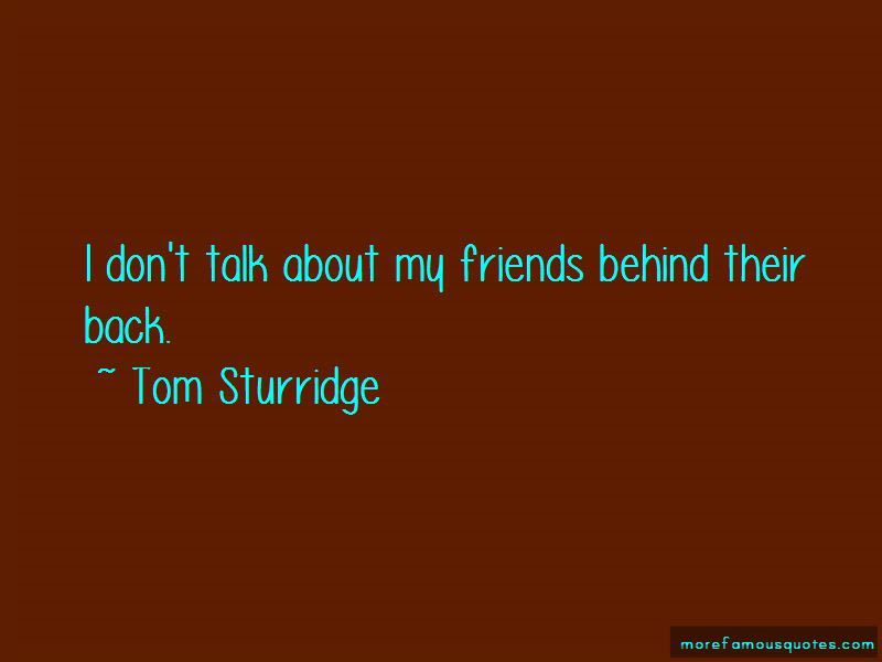 Friends Talk Behind Back Quotes Top 2 Quotes About Friends Talk