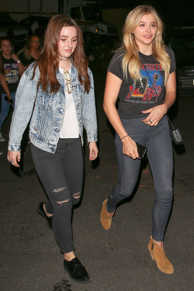 Chloe Moretz and Kaitlyn Dever: We Can Survive Concert -16