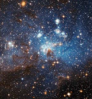 Estrellas en la Gran Nube de Magallanes
