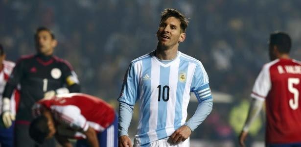 Messi deverá perder jogo por lesão