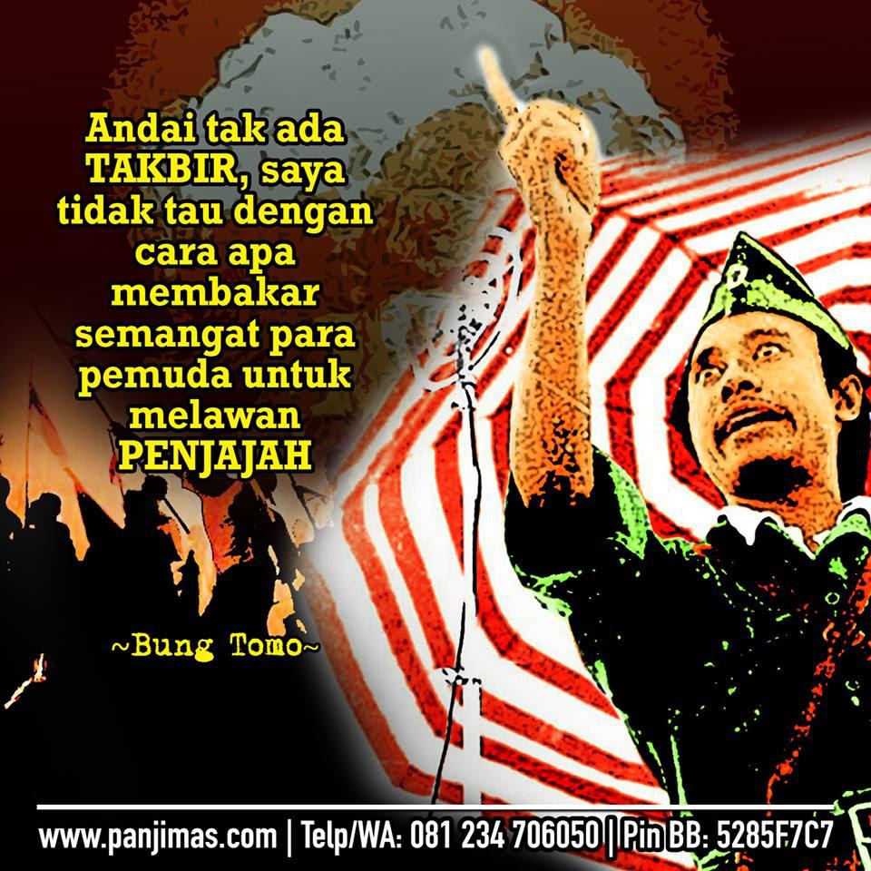 Pidato Bung Tomo Gelorakan Semangat Jihad Arek Arek Suroboyo Allahu