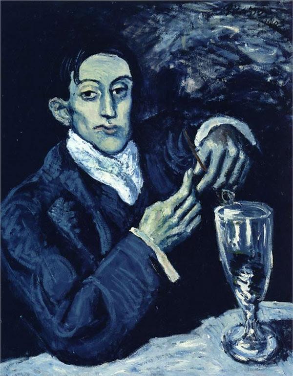 Пабло Пикассо Портрет Анхела Фернандеса де Сото
