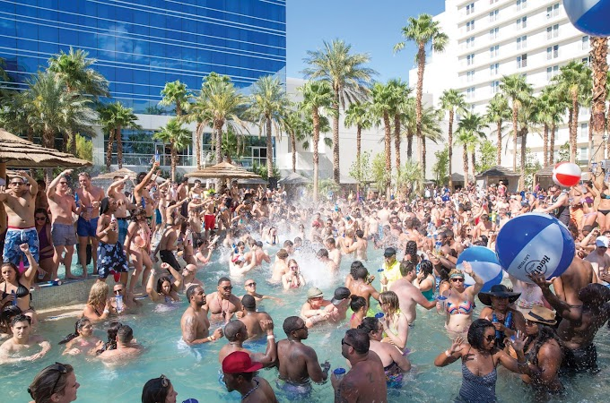 Rehab Pool Party At The Hard Rock Hotel &Amp